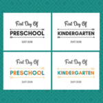 First And Last Day Of School Printable Signs [UPDATED]
