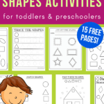 free printable shapes worksheets