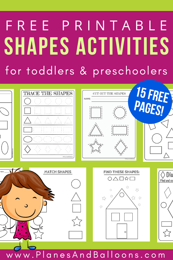 photo about Printable Shapes Worksheets named No cost printable styles worksheets for infants and preschoolers