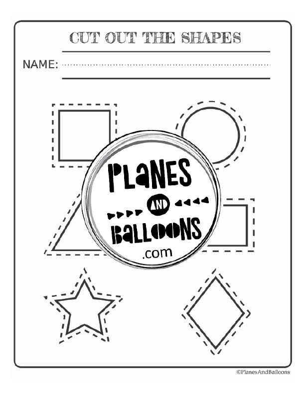 shapes preschool worksheets