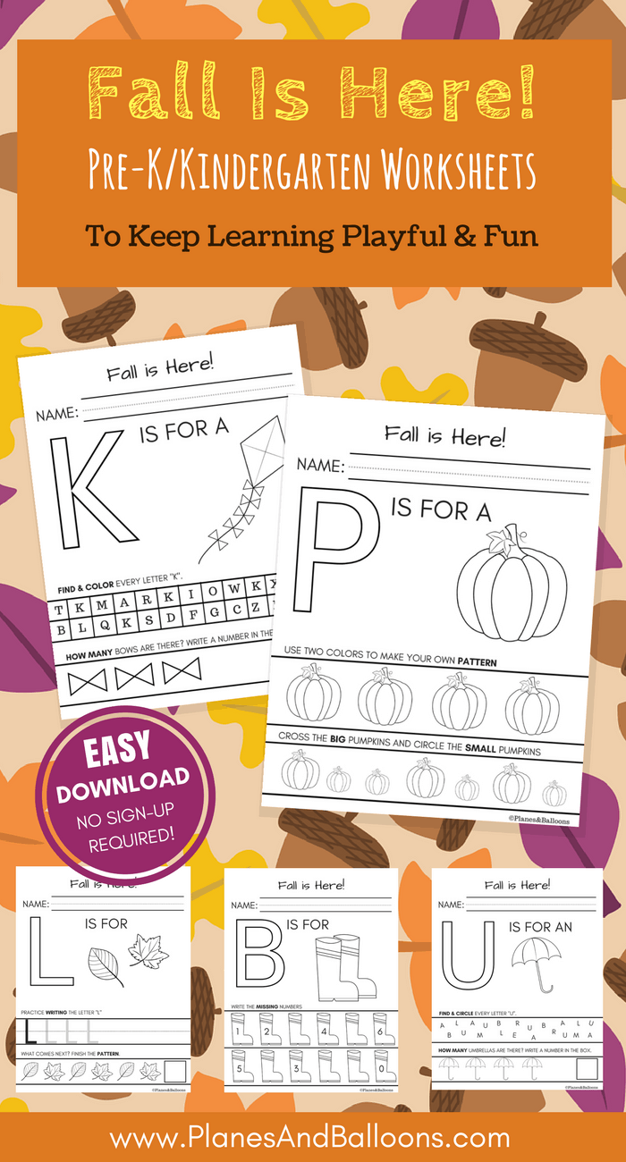 worksheet Fall Worksheets For Kindergarten fall worksheets kindergarten printable for free no sign up required kindergarten