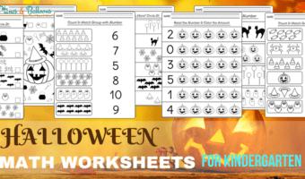 Halloween Kindergarten Worksheets Free