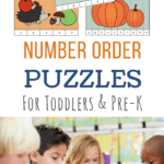 Number order puzzles free printables