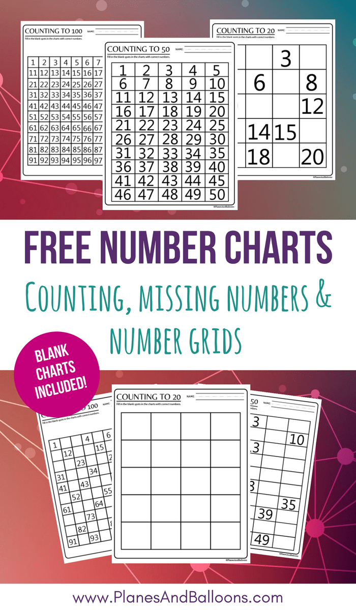 100 Chart Printable Worksheets