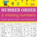 number order worksheets