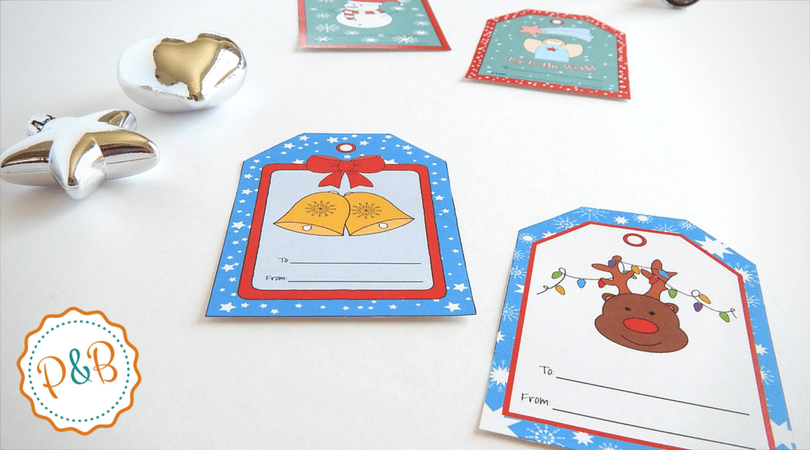 Christmas Gift Tags For Kids.Printable Christmas Tags For Gifts Super Cute And Most Of