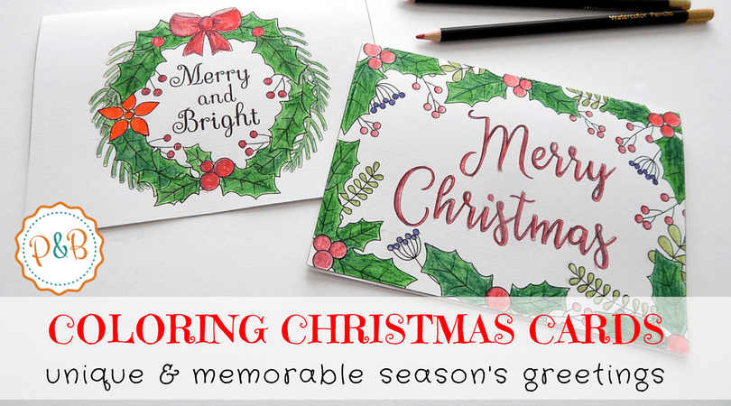 Free Christmas Card Templates.6 Unique Christmas Cards To Color Free Printable Download