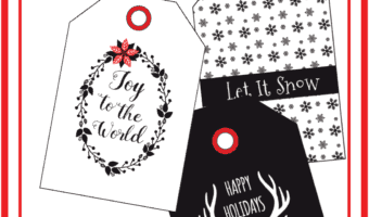 Printable Christmas Labels for the Adults in Your Life