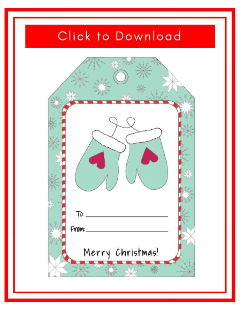 Printable Christmas Tags for Gifts: Super Cute And Most of All FREE!