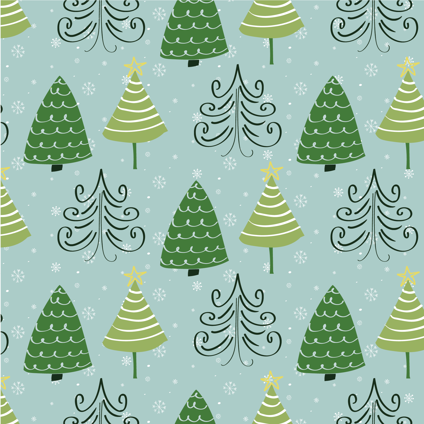 christmas digital paper for your creative holiday projects