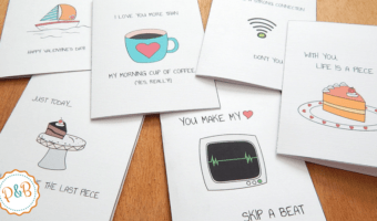 Printable Valentines day cards that will put a smile on your face