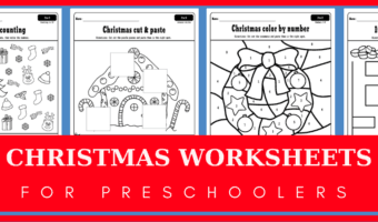 Christmas worksheets for preschoolers