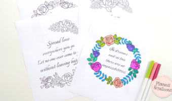 6 must-have love quote coloring pages for your rockin' coloring collection