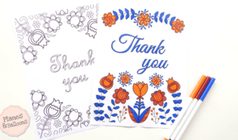 Thank You Coloring Pages: The perfect way to express gratitude in a creative original way