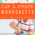 cut and paste printable worksheets