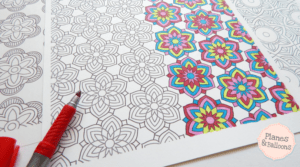 Pattern coloring pages that will help you concentrate like never before