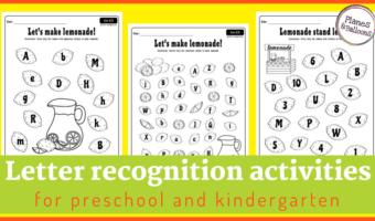 letter recognition worksheets pdf
