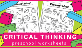 Fun activities for developing critical thinking skills in preschoolers