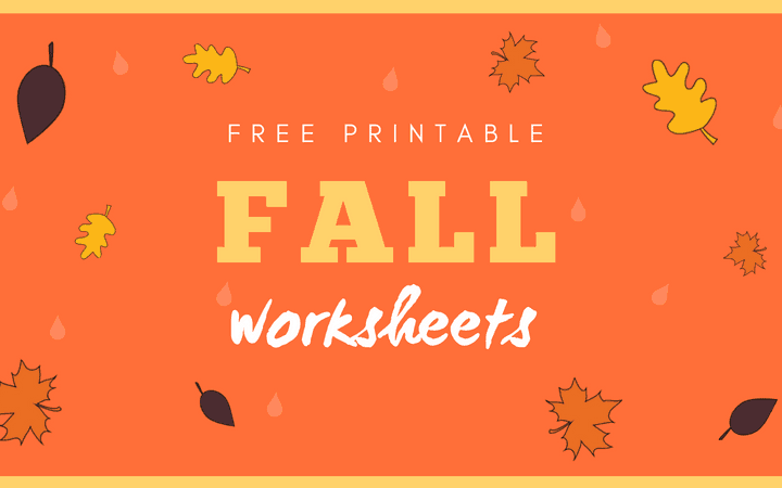 fall worksheets