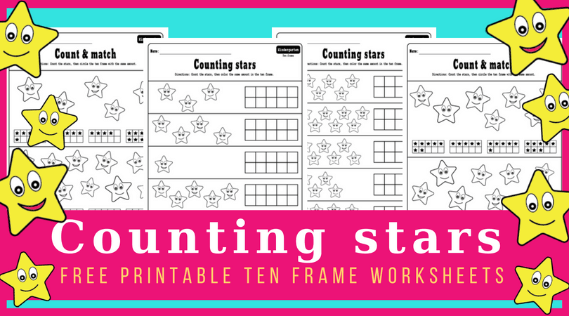 picture relating to Ten Frame Printable identify 10 body worksheets for early math college students. Absolutely free printables!