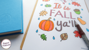 Fall coloring pages you need to add to your art projects this fall