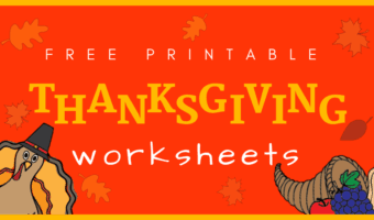 Free Thanksgiving worksheets bundles you can't miss