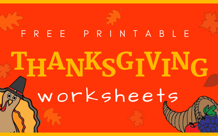 Thanksgiving worksheets pdf