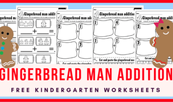Christmas worksheets for kindergarten