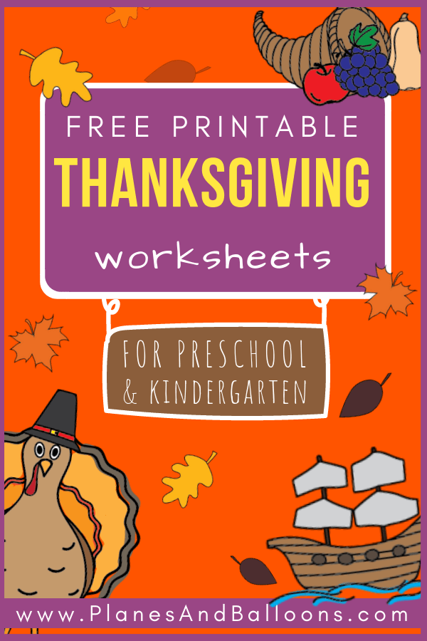 A list of FREE Thanksgiving worksheets you'll want to add to your Thanksgiving lesson plans. Lots of Thanksgiving math activities and Thanksgiving writing activities for your preschool and kindergarten class. #thanksgiving #turkeyday #freeworksheets #kindergarten #prek #preschool #worksheets #teacherslife