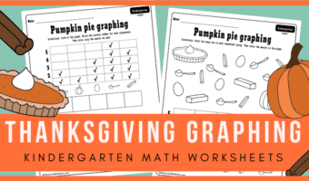 Thanksgiving kindergarten activities for your holiday math centers