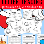 tracing letters preschool