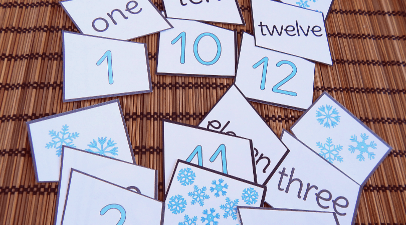Add these counting puzzles to your winter math activities for kindergarten. These snowflake math activities for kindergarten are just adorable. Perfect for winter math games, morning work or winter lesson plans for your class. Teaching number sense the fun way! #math #winter #freeworksheets #kindergarten #prek #numbersense