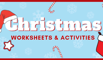 free printable Christmas worksheets and activities