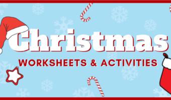 Fun free printable Christmas worksheets and activities for preschool and kindergarten