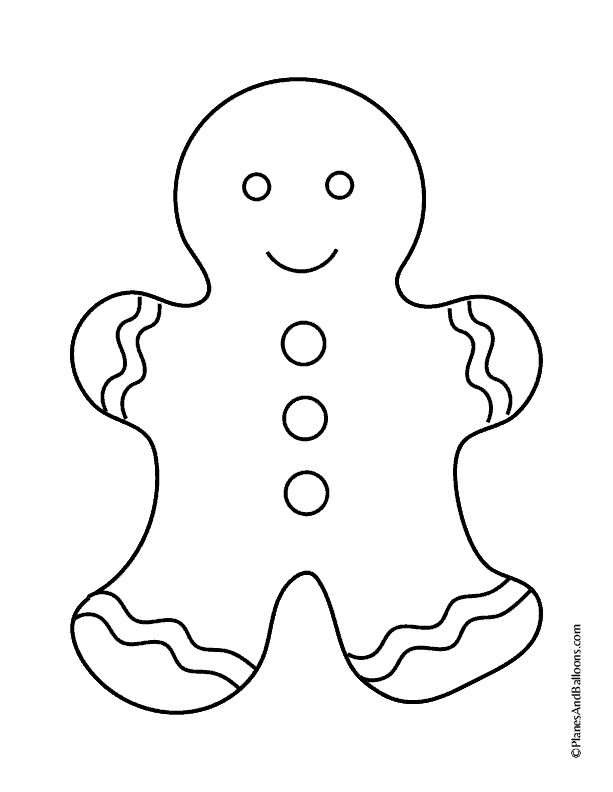 Free printable Christmas coloring pages for toddlers. So fun! Children will enjoy coloring the gingerbread house and gingerbread man too. Easy and simple! #christmas