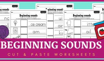 beginning sounds worksheets pdf