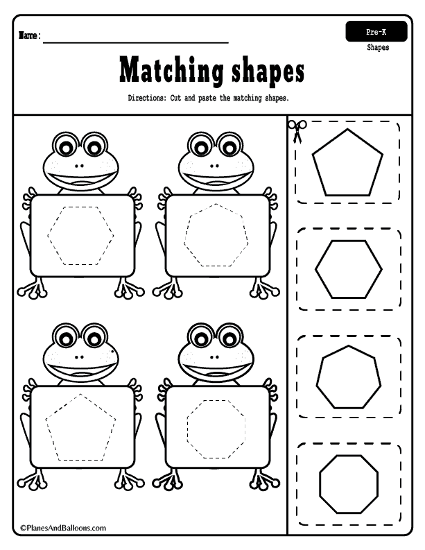 Ambitious image intended for printable cutting worksheets for preschoolers