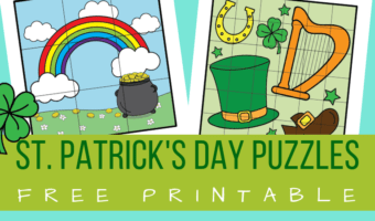 Free printable St. patrick's day puzzles