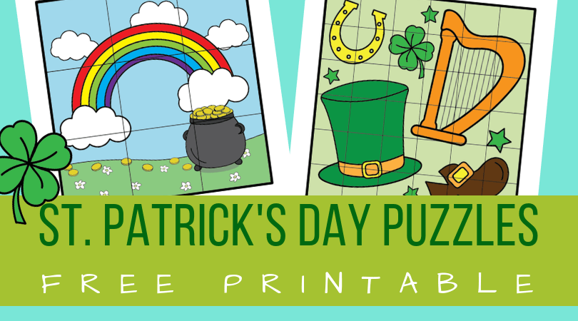 graphic relating to St Patrick Day Puzzles Printable Free named St. Patricks Working day puzzles - Planes Balloons Makes it possible for crank out