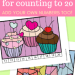 Valentine's day puzzles number order