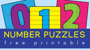 Printable number puzzles