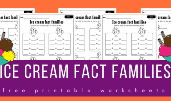Ice cream fact families