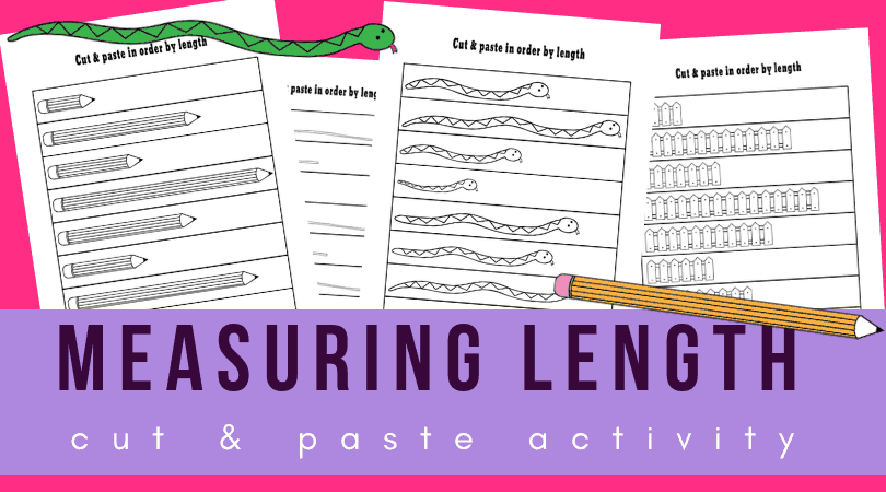 picture of length comparison worksheets