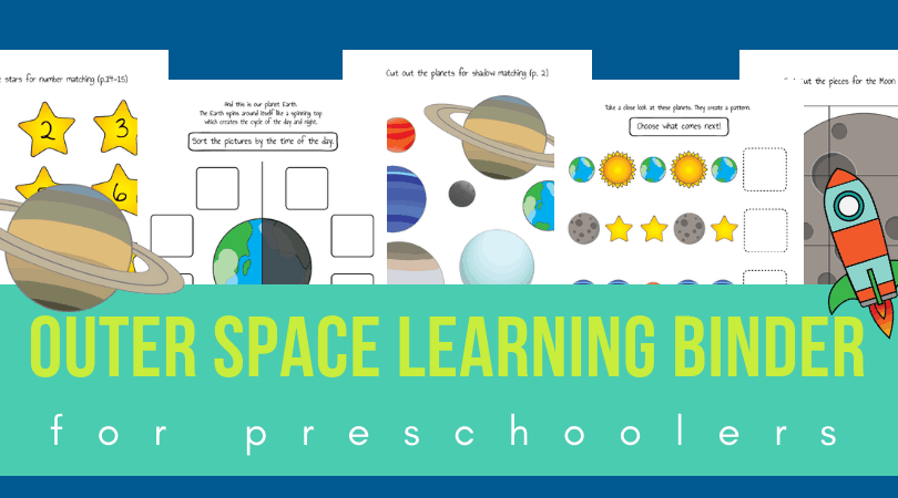 Worksheets with planets
