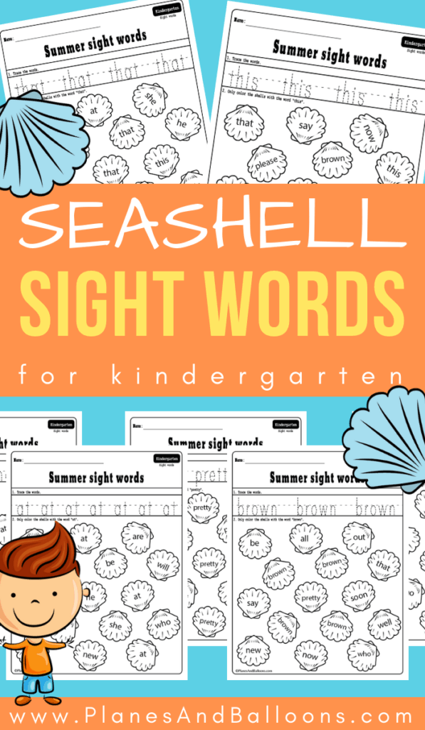 summer sight words