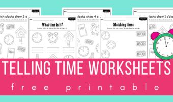 Telling time worksheets pdf file