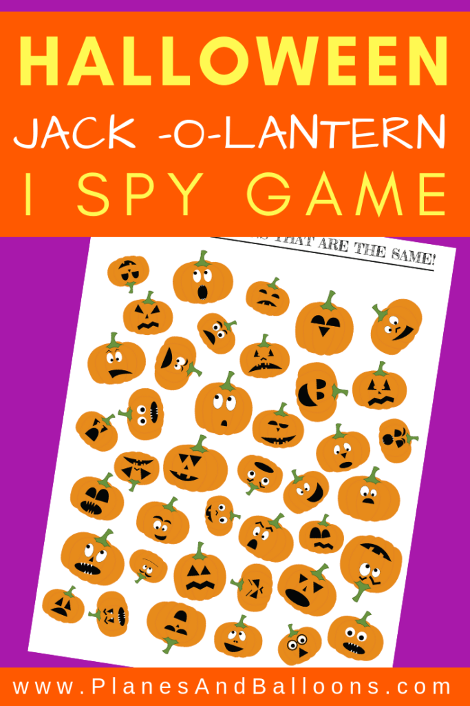 photo about I Spy Printable Worksheets identify Jack-O-Lantern I Spy Printable Worksheets Sport For Halloween Enjoyment