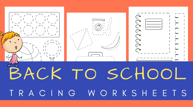 back to school tracing