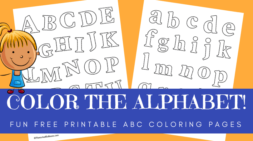 alphabet coloring pages preschool pdf