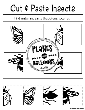 cut and paste worksheets preschool
